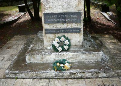 Királyhelmec világháborús emlékmű 2009.05.31.küldő-Ágca (2)
