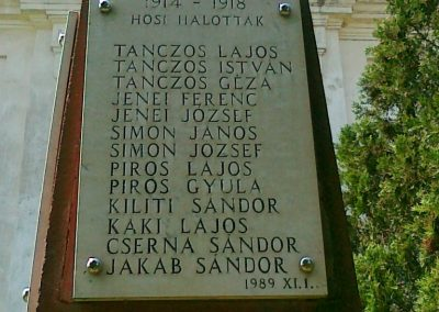 Királyszentistván világháborús emlékmű 2011.05.18. küldő-Csiszár Lehel (1)