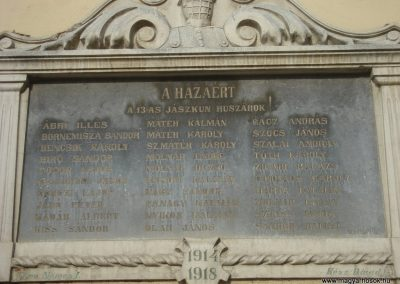 Kisújszállás templom I.vh emléktábla 2009.05.16.küldő-Huszár Peti (1)