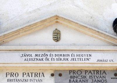 Kisapostag világháborús emléktáblák 2012.03.17. küldő-baloghzoli (1)
