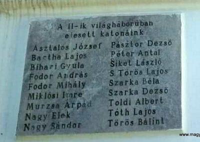 Kisar világháborús emléktáblák 2018.11.12. küldő-Eszterhai Zsuzsa (5)