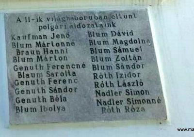 Kisar világháborús emléktáblák 2018.11.12. küldő-Eszterhai Zsuzsa (6)