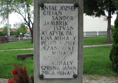 Kisbágyon világháborús emlékmű 2010.05.14. küldő-kalyhas (5)