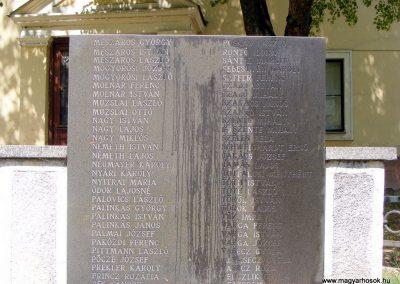 Kisbér, II. világháborús emlékmű