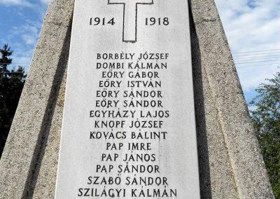 Kisbabot világháborús emlékmű 2012.08.26. küldő-Baloghzoli (4)