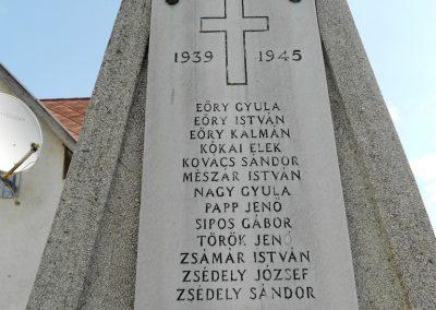Kisbabot világháborús emlékmű 2012.08.26. küldő-Baloghzoli (6)
