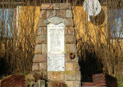 Kisberény világháborús emlékmű 2017.03.11. küldő-Huber Csabáné