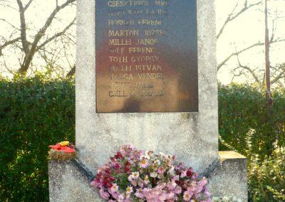 Kiscsehi világháborús emlékmű 2009.11.17. küldő-Sümec (1)
