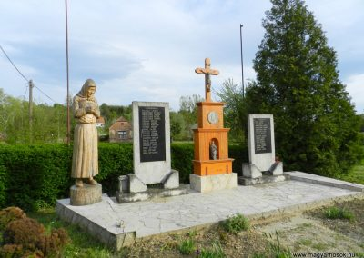 Kiscsehi világháborús emlékmű 2016.04.17. küldő-Huber Csabáné