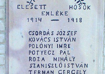 Kisecset I.vh emlékmű 2008.02.12. küldő-Pfaff László, Rétság (1)