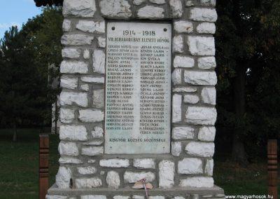Kisgyőr világháborús emlékhely 2007.09.20.küldő-Kályhás (1)