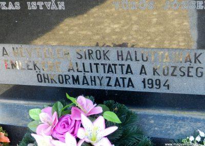 Kisgyalán világháborús emlékmű 2016.03.20. küldő-Huber Csabáné (4)