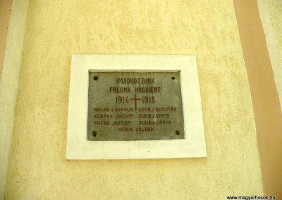 Kishuta I.világháborús emléktábla 2012.05.20. küldő-Gombóc Arthur