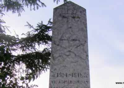 Kisigmánd I. világháborús emlékmű 2012.08.04. küldő-Méri (1)