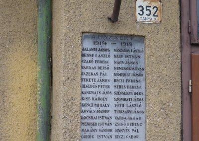 Kiskunfélegyháza-Alsógalambos I. világháborús emléktáblák 2010.01.02. küldő-Sümec (1)