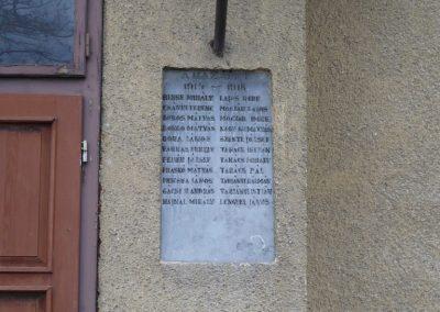 Kiskunfélegyháza-Alsógalambos I. világháborús emléktáblák 2010.01.02. küldő-Sümec (3)