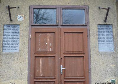 Kiskunfélegyháza-Alsógalambos I. világháborús emléktáblák 2010.01.02. küldő-Sümec