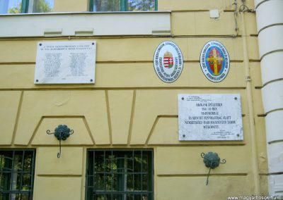 Kiskunfélegyháza Szent-Benedek Gimnázium II. világháborús emléktábla 2015.05.30. küldő-Emese (1)