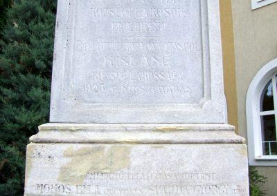 Kisláng I. világháborús emlékmű 2015.06.19. küldő-FHeni (2)