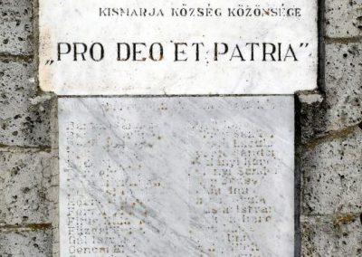 Kismarja I.vh emlékmű 2011.03.14. küldő-Katona István (2)