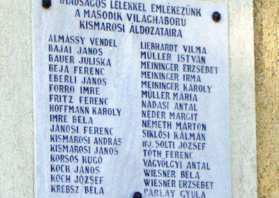 Kismaros világháborús emléktáblák 2012.07.29. küldő-Méri (3)