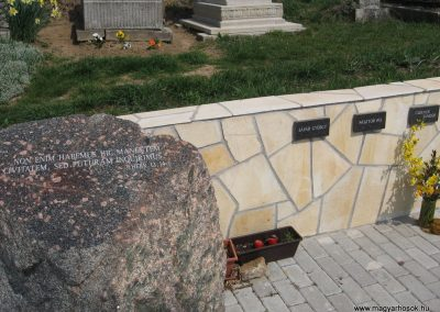 Kisnémedi temető I.vh emlékhely 2009.04.10.küldő-kalyhas (1)