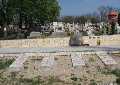 Kisnémedi temető I.vh emlékhely 2009.04.10.küldő-kalyhas