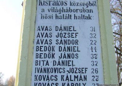 Kisrákos világháborús emlékmű 2011.11.13. küldő-Marton Bence (3)