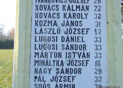 Kisrákos világháborús emlékmű 2011.11.13. küldő-Marton Bence (4)