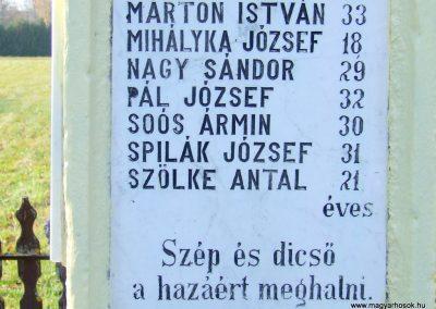 Kisrákos világháborús emlékmű 2011.11.13. küldő-Marton Bence (5)