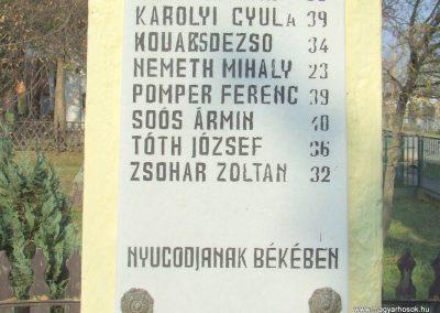 Kisrákos világháborús emlékmű 2011.11.13. küldő-Marton Bence (9)