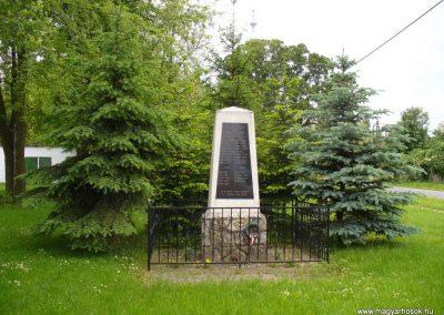 Kisszőlős világháborús emlékmű 2010.05.26. küldő-HunMi