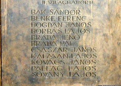 Kisszentmárton világháborús emlékmű 2007.07.01. küldő- Dr. Lázár Gyula Levente (3)