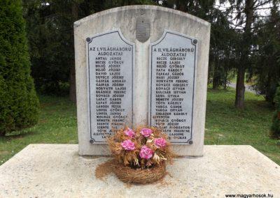 Kissziget világháborús emlékmű 2016.08.13. küldő-kalyhas (2)