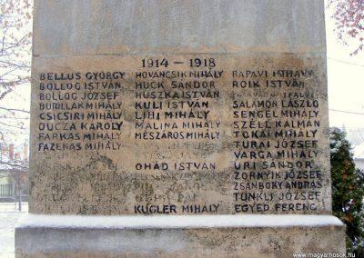 Kistarcsa világháborús emlékmű 2012.12.26. küldő-Méri (3)