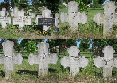Kistelek Öregtemető, világháborús katonasírok 2015.05.12. küldő-Emese (7)