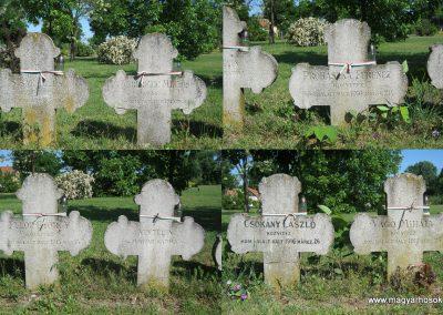 Kistelek Öregtemető, világháborús katonasírok 2015.05.12. küldő-Emese (8)