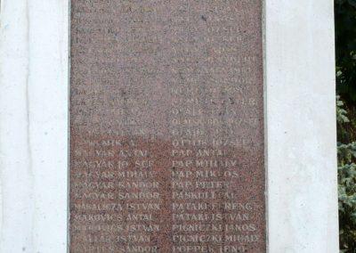 Kistelek I. világháborús emlékmű 2013.07.15. küldő-Sümec (13)