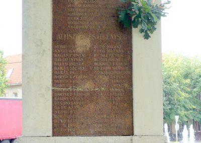 Kistelek I. világháborús emlékmű 2013.07.15. küldő-Sümec (2)