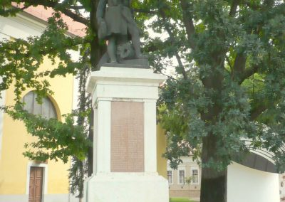 Kistelek I. világháborús emlékmű 2013.07.15. küldő-Sümec