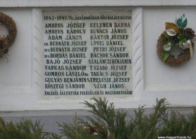 Kistokaj világháborús emléktáblák 2008.04.05. küldő-Kályhás (2)