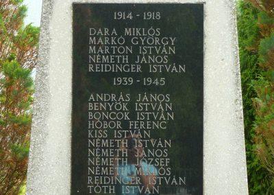Kistolmács világháborús emlékmű 2009.05.23.küldő-Ágca (3)