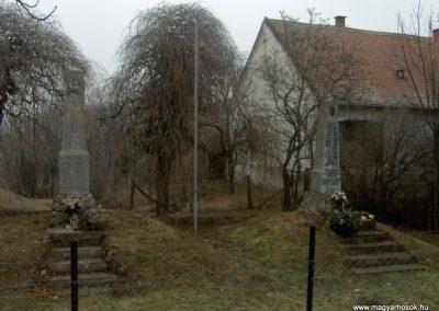 Kisunyom világháborús emlékművek 2009.01.10.küldő-gyurkusz