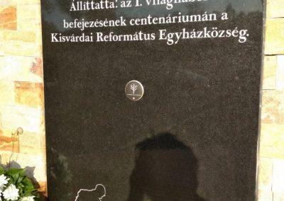 Kisvárda I. világháborús emlékmű 2018.11.12. küldő-Eszterhai Zsuzsa (3)