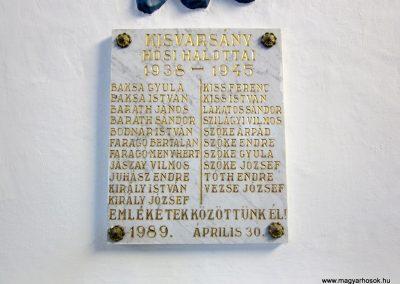 Kisvarsány református templom világháborús emléktáblák 2014.02.24. küldő-kalyhas (4)