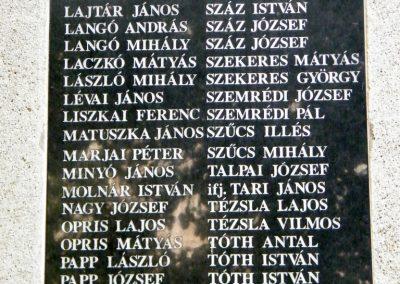 Kiszombor I. világháborús emlékmű 2012.09.06. küldő-Erika 67 (4)