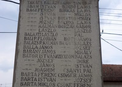 Kocsér I. világháborús emlékmű 2014. 05.03. küldő-belamiki (4)