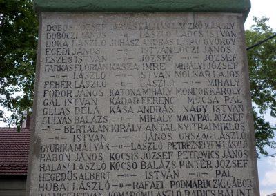 Kocsér I. világháborús emlékmű 2014. 05.03. küldő-belamiki (5)