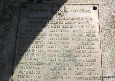 Kocsord világháborús emlékmű 2014.08.04. küldő-kalyhas (4)