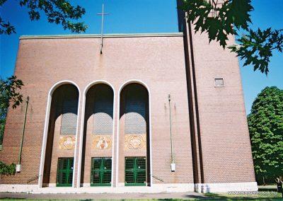 Komárom Jézus szive templom I. világháborús emléktábla 2010. küldő-Emese